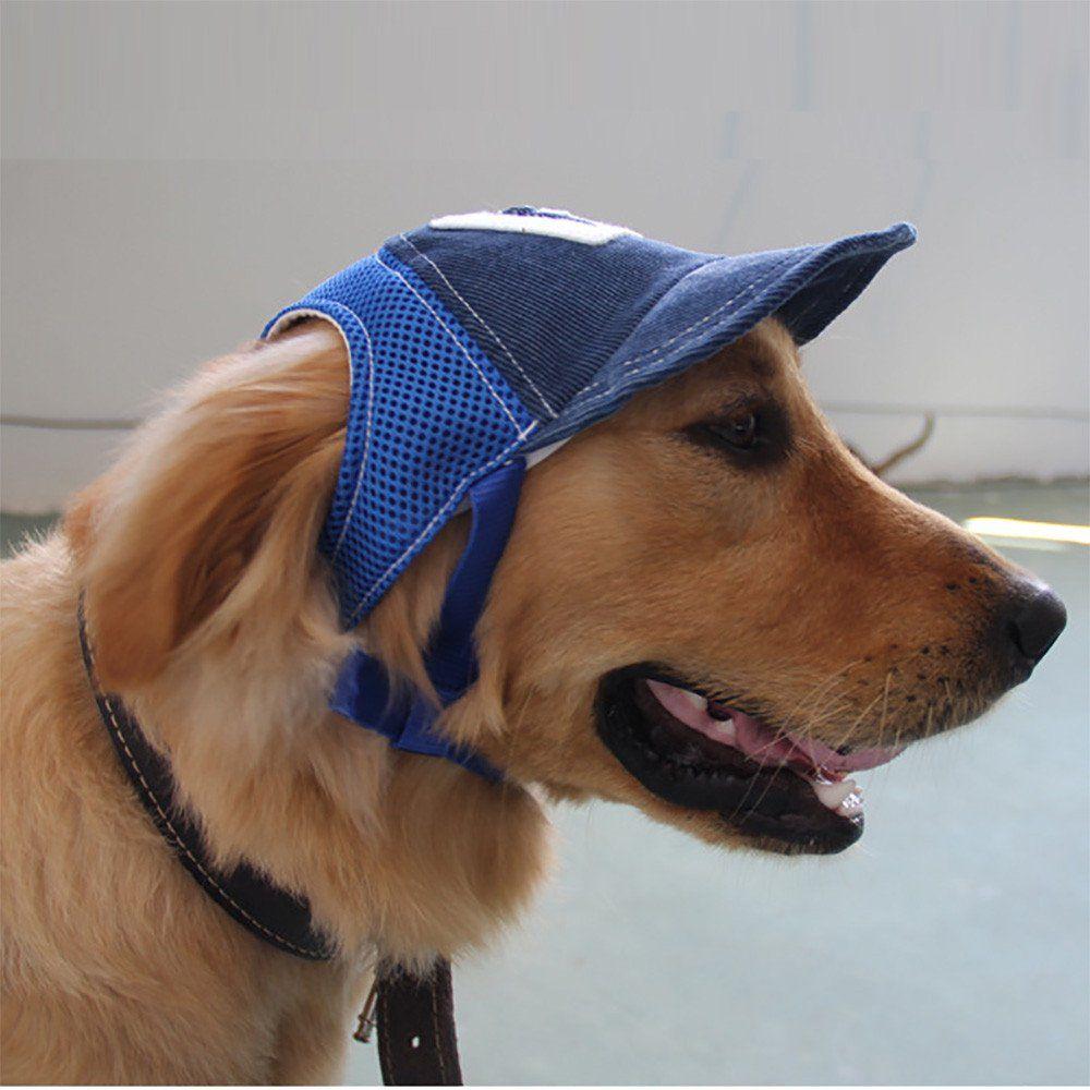 Follure Breathable Baseball Dog Caps Pet Dog Hats Large Dogs Sports Sun Hats Walmart Com In 2021 Dog Hat Sporting Dogs Sun Dogs