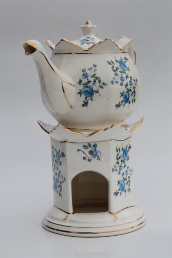Candle Warmer Stand Buffet Table Tea, China Teapot With Warmer
