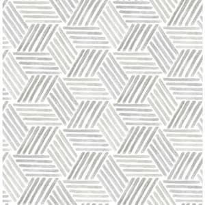 Scott Living 30 75 Sq Ft Taupe Grey Vinyl Geometric Self Adhesive Peel And Stick Wallpaper Lowes Com In 2020 Peel And Stick Wallpaper Geometric Wallpaper Lowes Wallpaper