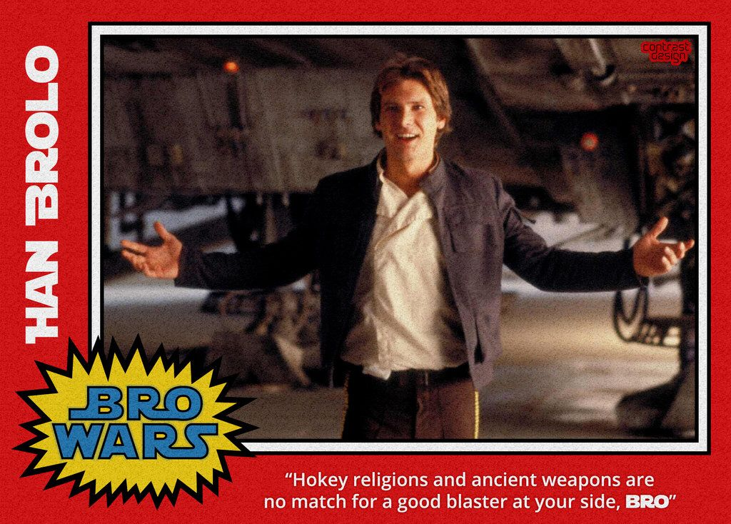 Han Brolo Hokey Religions And Ancient Weapons Are No Match For A