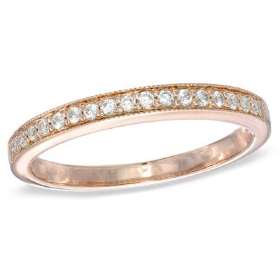 Something Like This Would Look Fabulous With My Rose Gold Engagement Ring
