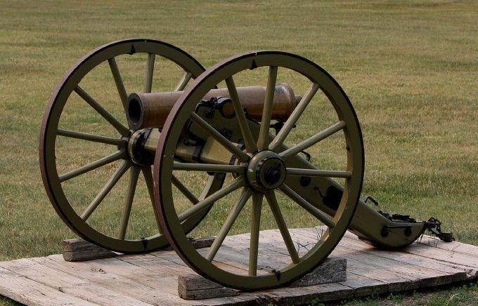 M1841 12 pounder Mountain Howitzer - Used during the Indian