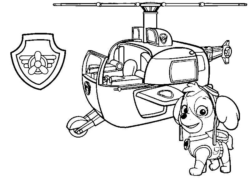 patrulha canina moldes e riscos, desenhos de patrulha canina paw ...