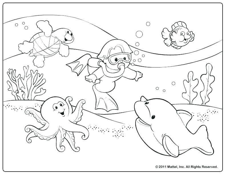 Download Summer Coloring Pages | Disegni da colorare, Disegni ... | 612x792
