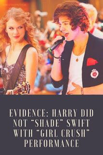 "Watch Evidence: Harry Styles Did NOT ""Shade"" Taylor Swift"