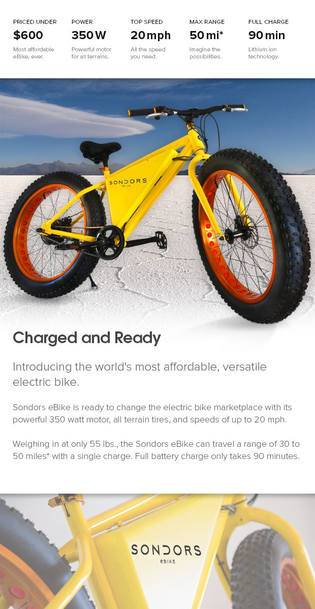 Sondors Electric Bike Indiegogo What I Like Bike Cool Bikes Motorcycle