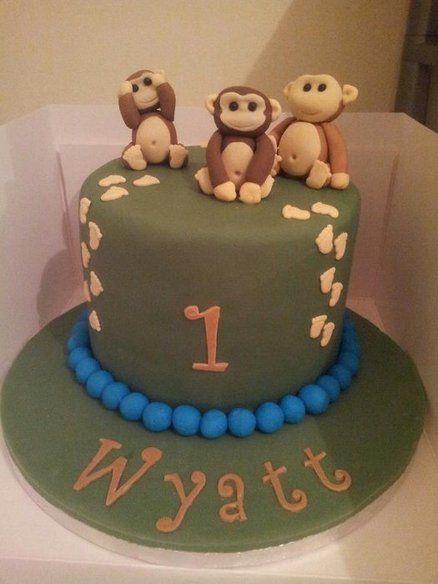 Monkey cake - by TattooedCake @ CakesDecor.com - cake ...