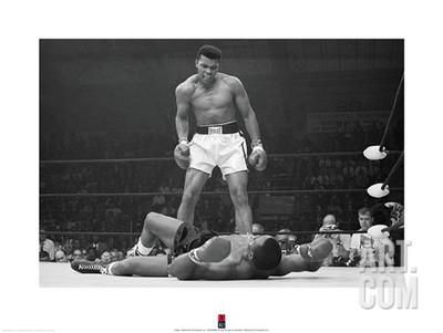 Muhammad Ali V Sonny Liston Art Print By Unknown At Artcouk