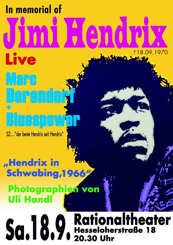 in memory JimiHendrix 2010