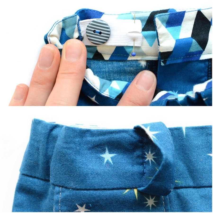 Small Fry Skinny Jeans Sew Along: Day 4 – Adjustable Waistband ...