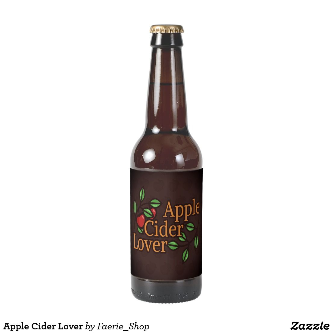 Le Cider Lover Beer Bottle Label
