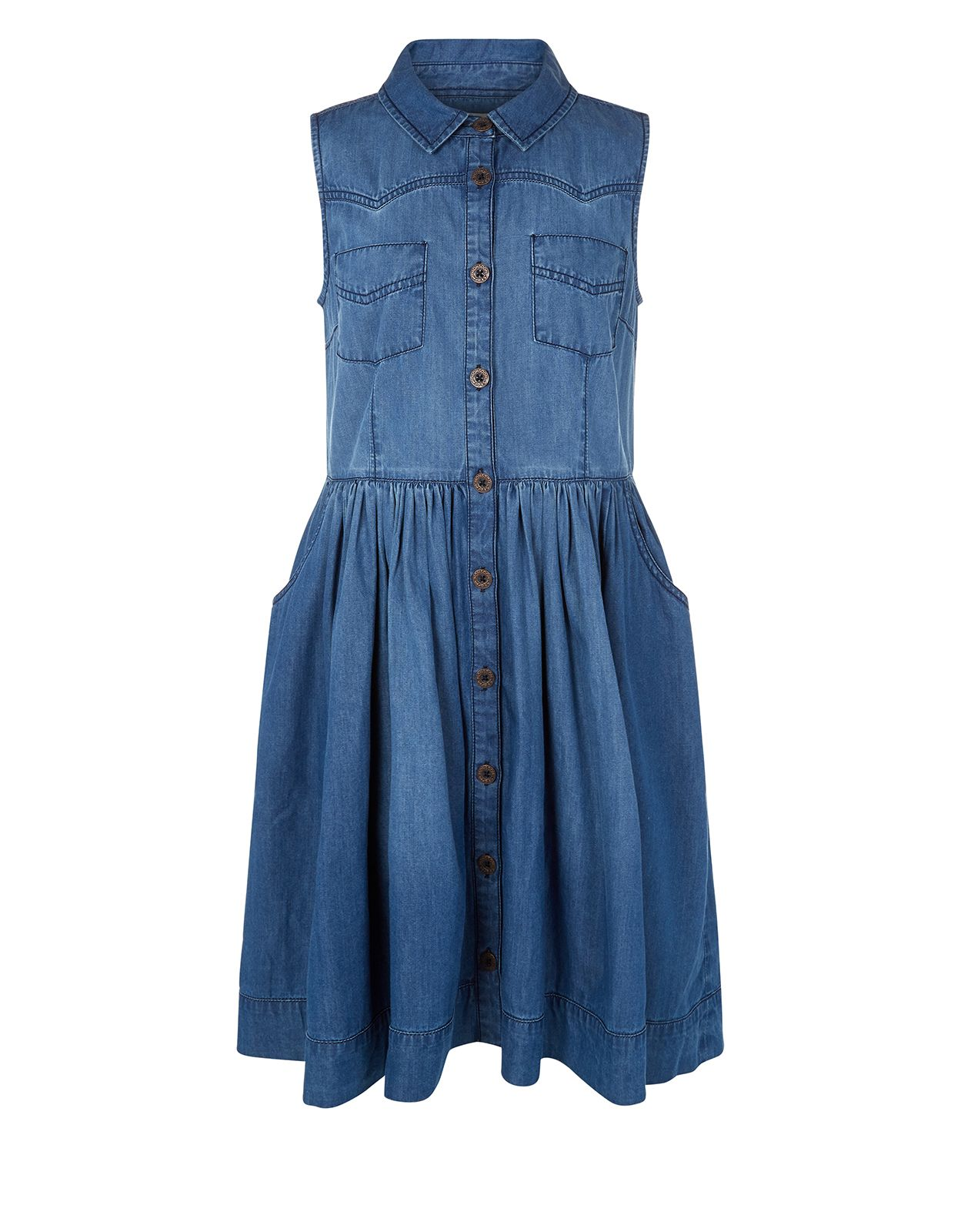 45ec8e27dd5 Adele Denim Dress