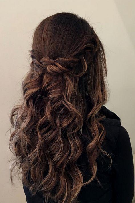 64 Ideas braids half up half down homecoming