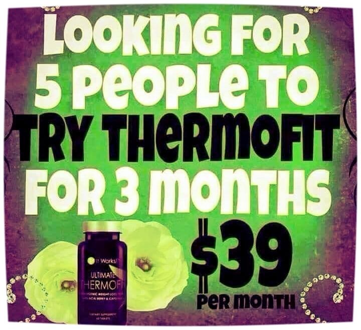 Have you hit a plateau? I can help you! I am looking for 5 more people to try It Works Thermofit for 90 days at $39 a month! Thermofit boosts your metabolism allowing you to burn more calories to help you blast that plateau! for more information please call/text 414-758-0077 #thermofit #calories #plateau #metabolism #diet #detox #moms #dads #collegestudent #women #men #eatclean #hydrate #wellness #health #believe #workout #exercise #happy #smile #summer #eathealthy #fit #instalike #follow…