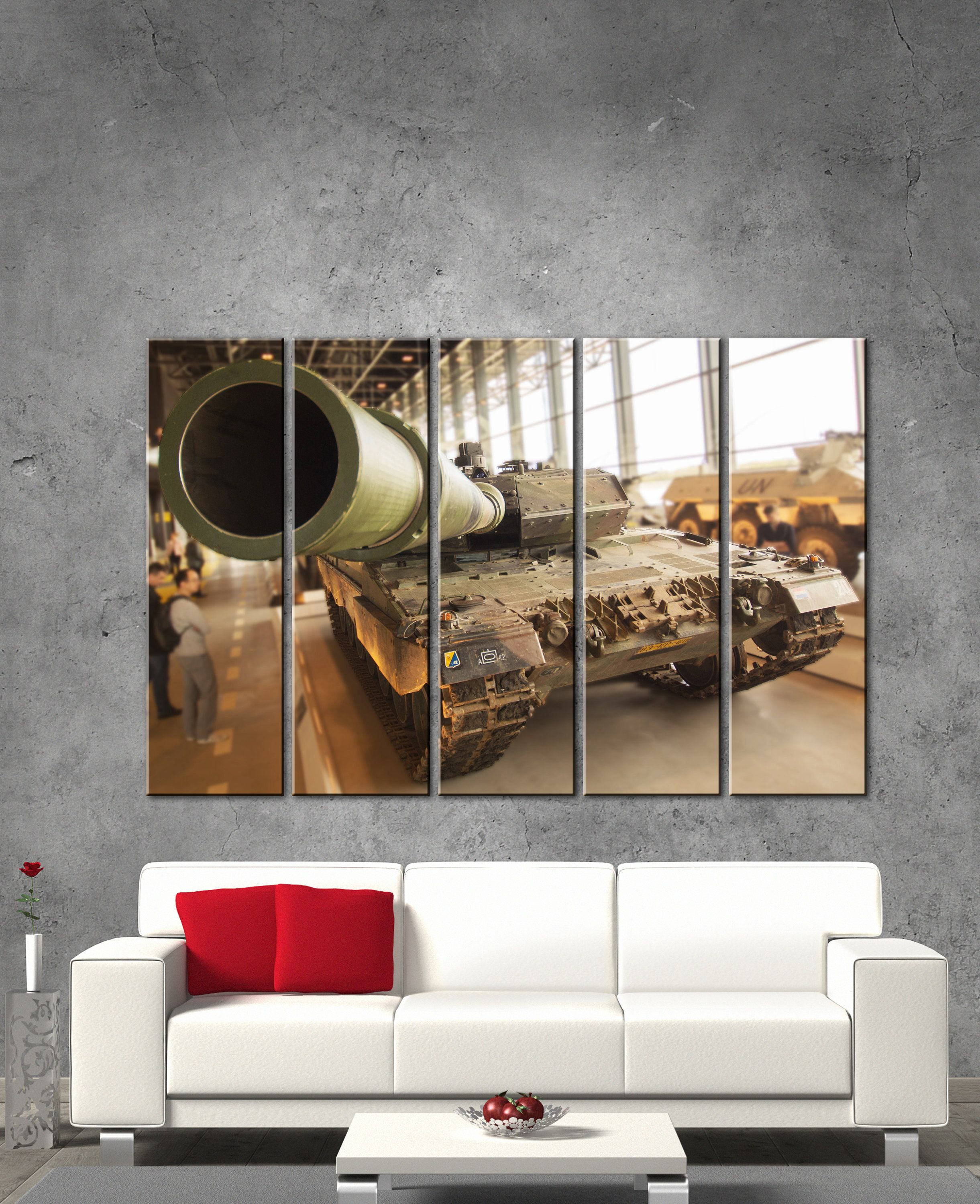 Panzer Print Wall Art Canvas Tank Print Tank Canvas Tank Wall Art Panzer Decor Tank Photoprint Military Home Art Army W Wall Prints Canvas Tank Wall Art Prints