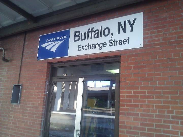 Amtrak Station - Exchange Street (BFX) in Buffalo, NY
