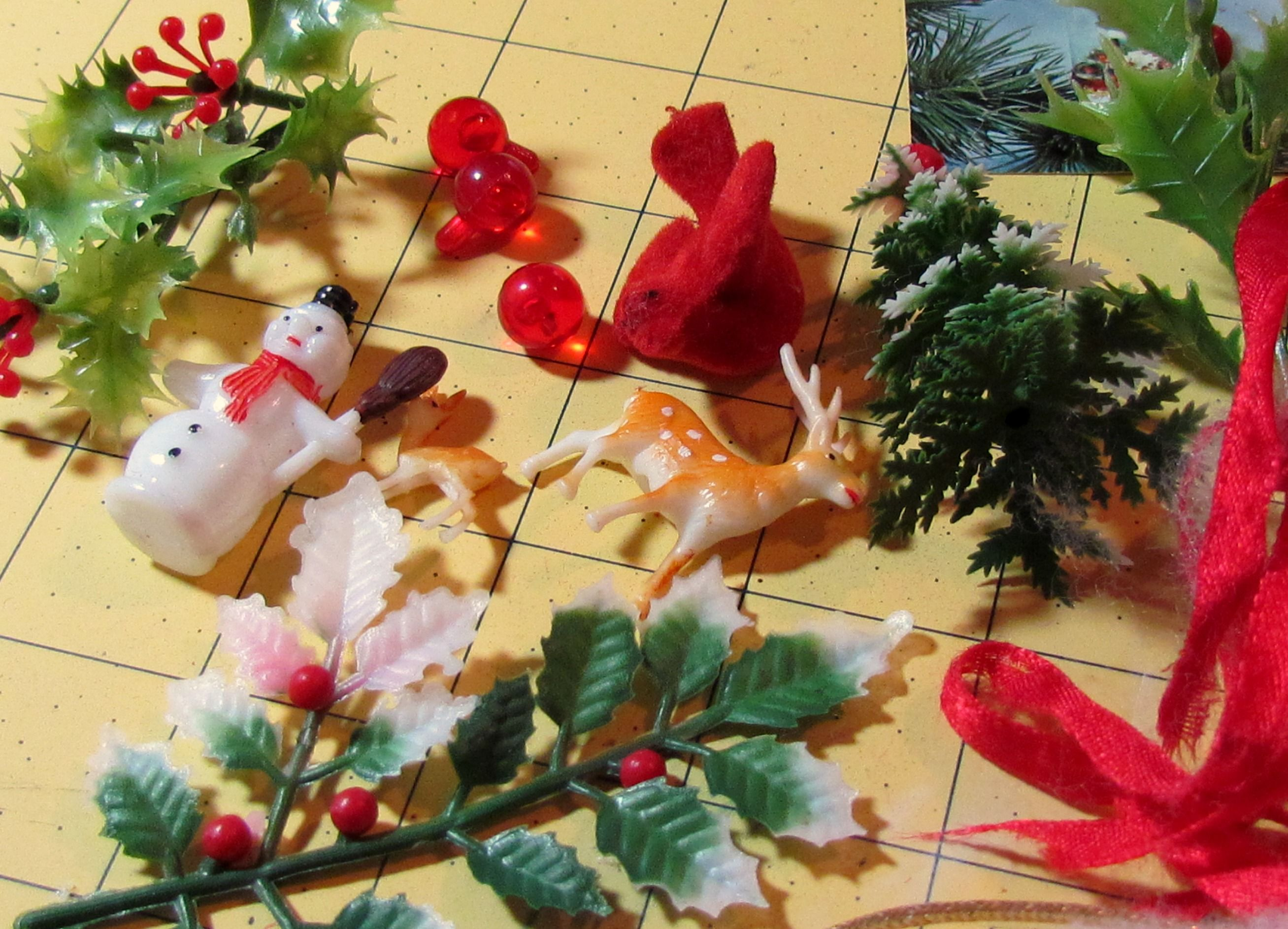 vintage christmas ornaments - Google Search