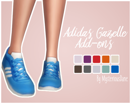 adidas gazelle add ons | Sims 4 mm, Sims 4 mods, Sims 4 cc shoes