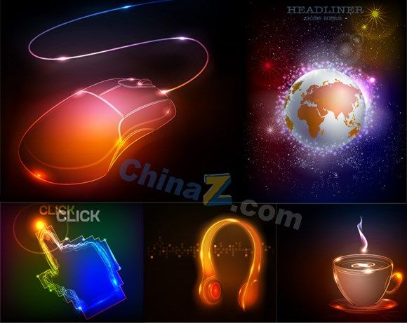 Lighting Design Vector : Light design vector graphics free vectors light