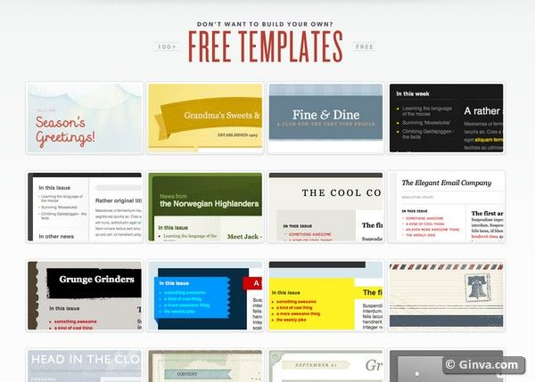 Websites For Downloading Free Html Email Newsletter Templates