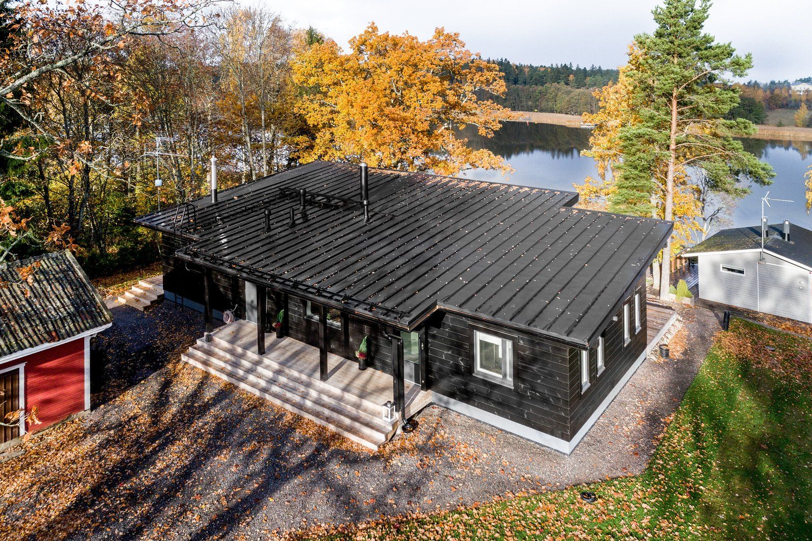 Log Cabin Kit Homes From Finland Modern Log Cabins Cabin Kit Homes Log Cabin Homes