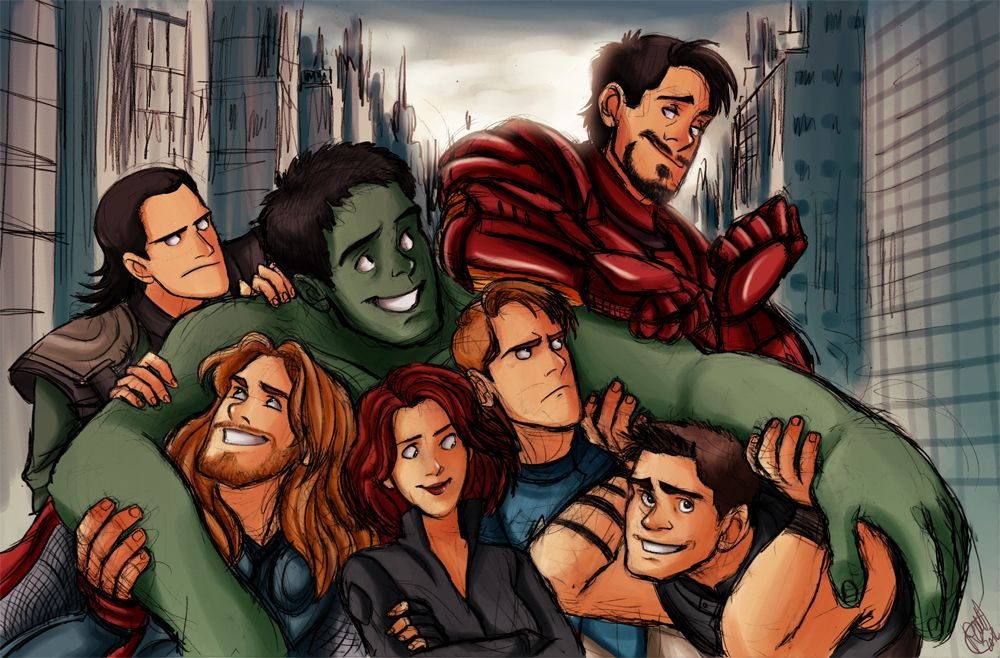 The Avengers - We Have A Hulk by Renny08 on @DeviantArt