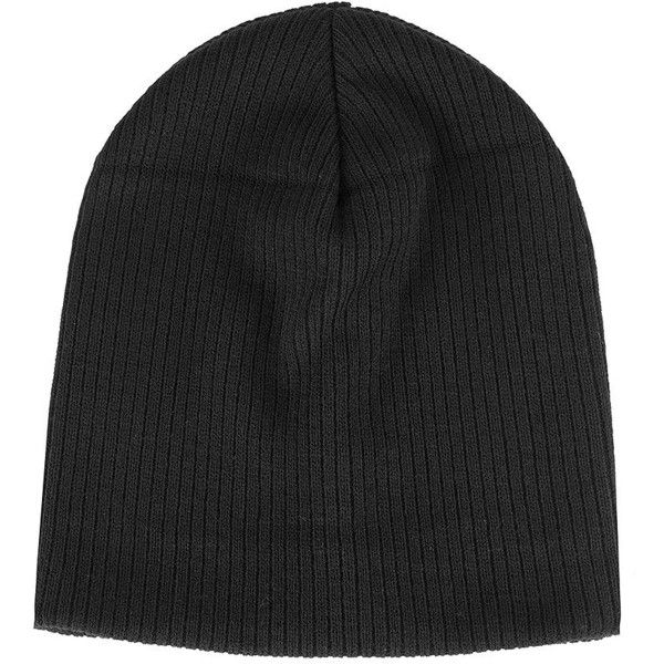 TOPSHOP Skater Rib Beanie (€5,65) ❤ liked on Polyvore featuring accessories, hats, accessories - hats, beanies, black, acrylic beanie hat, topshop beanie, skate hats, topshop hats and ribbed beanie hat