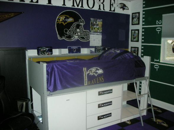 Baltimore Ravens Room Decor Raven S Football Boys Bed Rooms Design