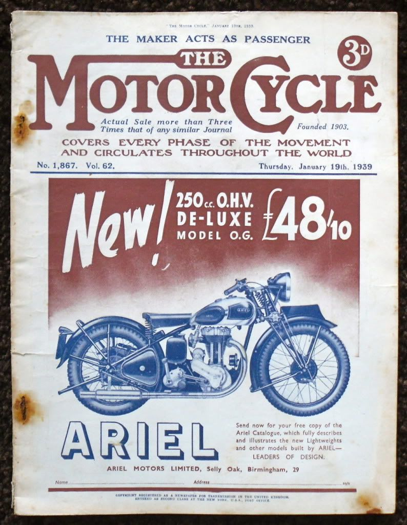 Vintage Ads Vintage Motorcycle Posters Vintage Ads Classic Motorcycles