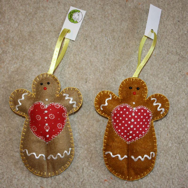 Christmas tree ornament gingerbread - Masni Mesi