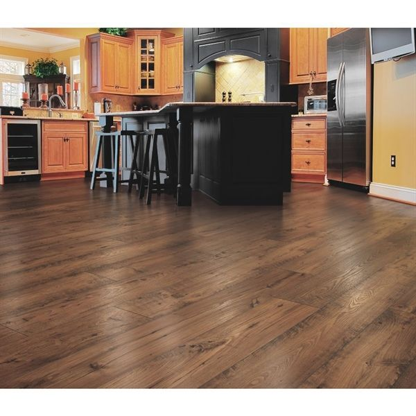 Mohawk Dakota Jamison Chestnut 7.48-in W x 4.52-ft L ...