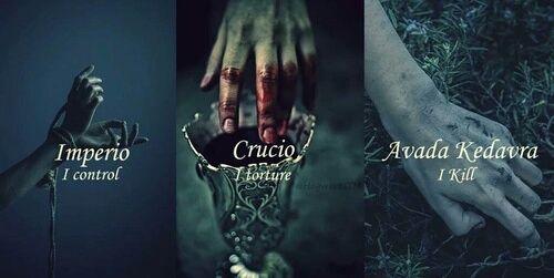 Harry Potter Imperio And Crucio Afbeelding Harry Potter World Harry Potter Lustig Hogwarts