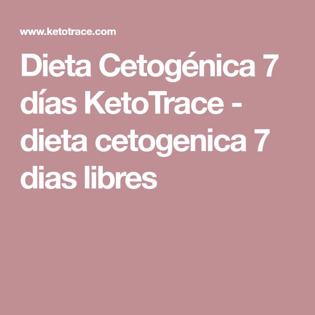 dieta cetogenica para 7 dias