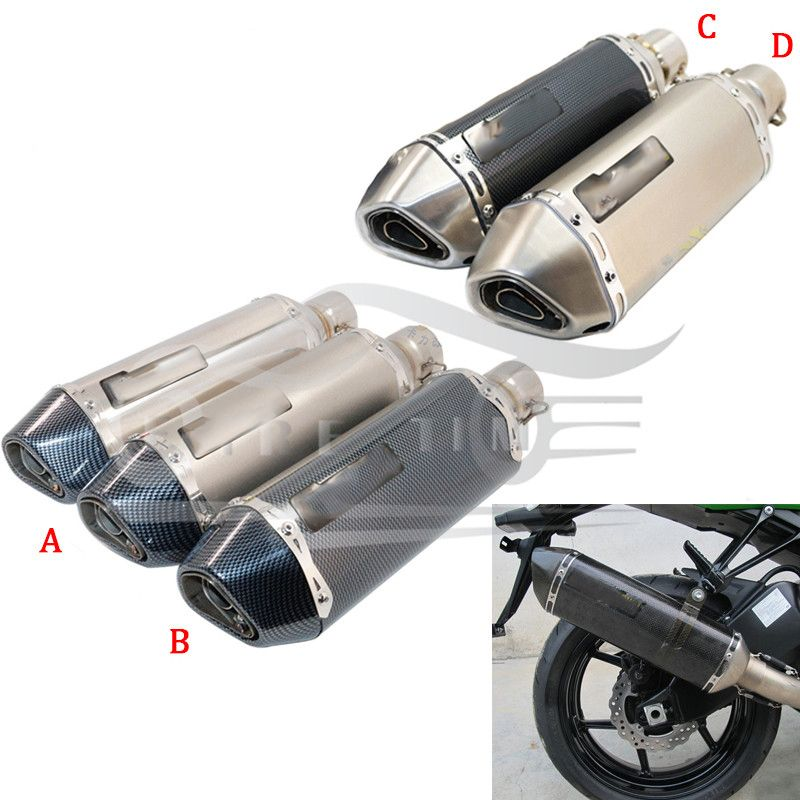 Akrapovic Motorcycle Exhaust Pipe Muffler Scooter Exhaust For