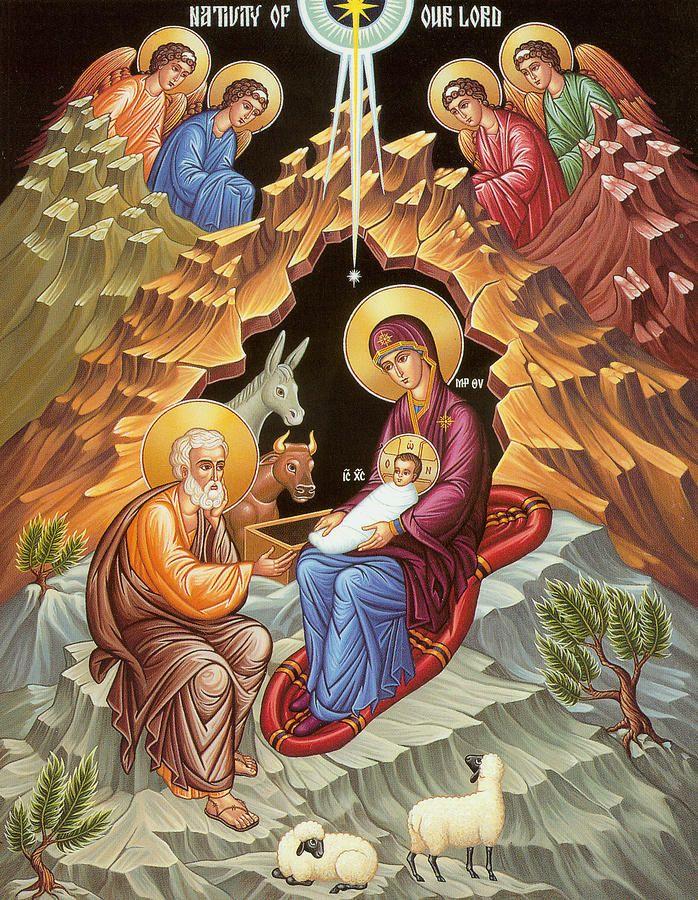 Orthodox Nativity Scene | рождество Христово | Pinterest | Scene ...