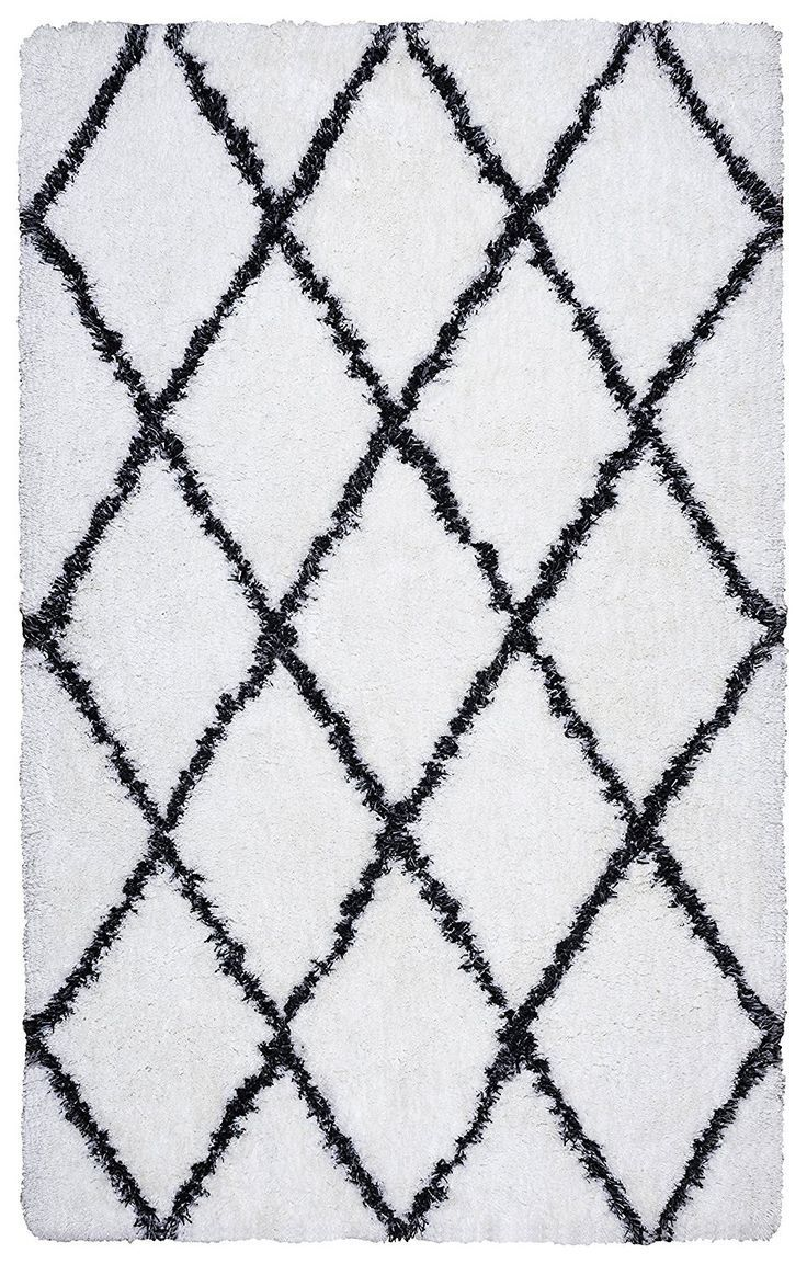 White Black Area Rug Affiliate Link Inexpensive Rugs Rugs Area