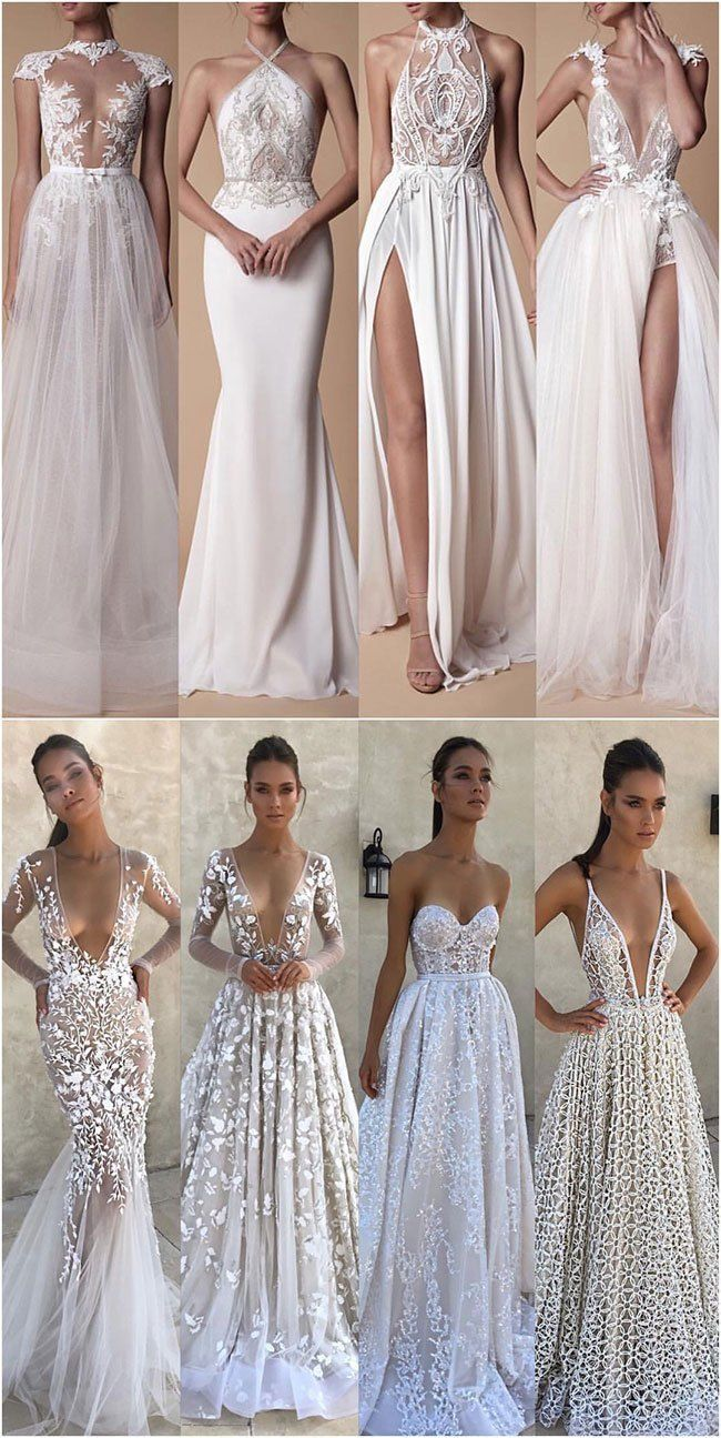 40+ Hottest Berta Wedding Dresses from Instagram (Part-01) - Forevermorebling | Wedding Blog #bertaweddingdress