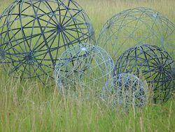 Branch Steel Spheres Online Garden Store