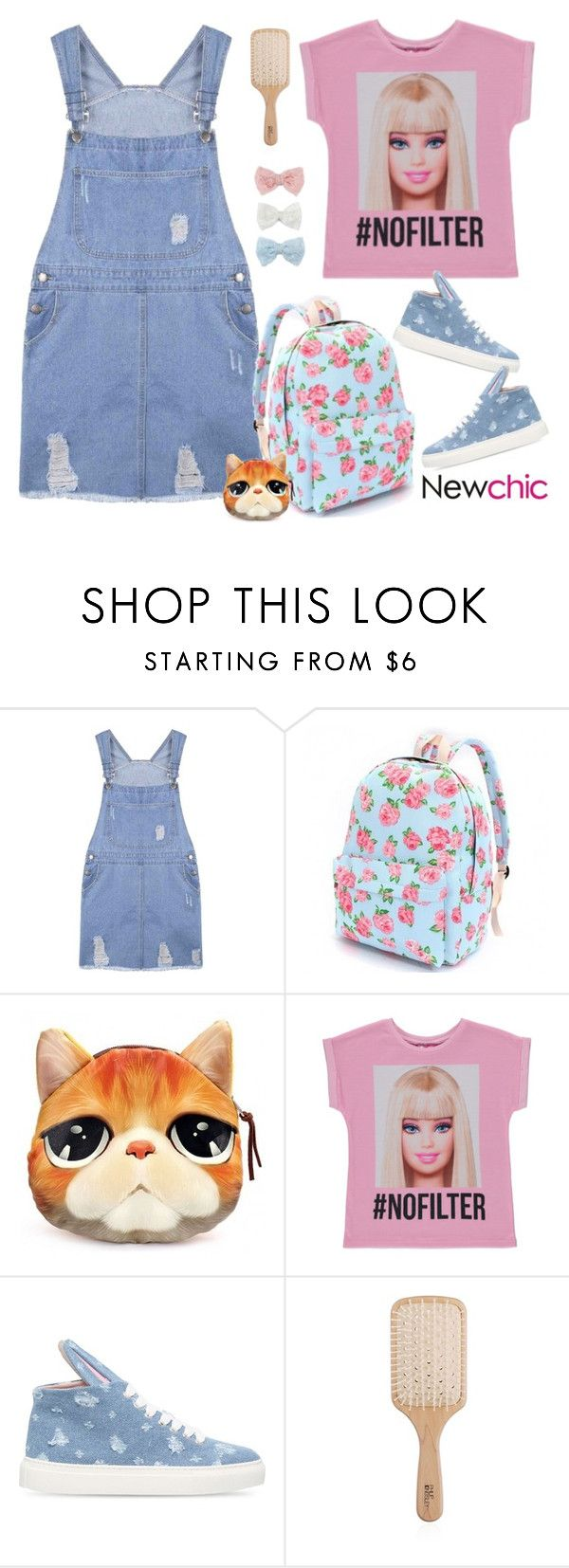 """""""Newchic deux"""" by natcatt ❤ liked on Polyvore featuring George, Minna Parikka, Philip Kingsley, Decree and lovenewchic"""