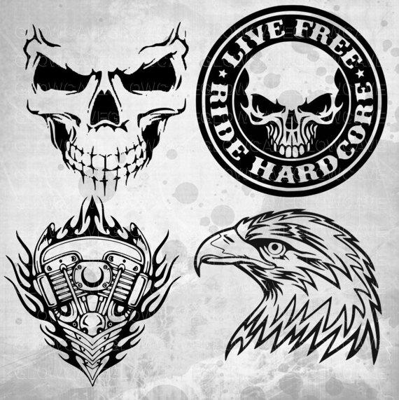 Harley Davidson svg Svg Dxf Png EpsSilhouette StudioCricut