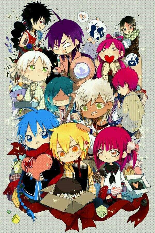 A Good Show With A Weakass Main Character Anime Magi Aladdin Magi Magi