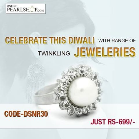 Celebrate this diwali with range of twinkling jeweleries.