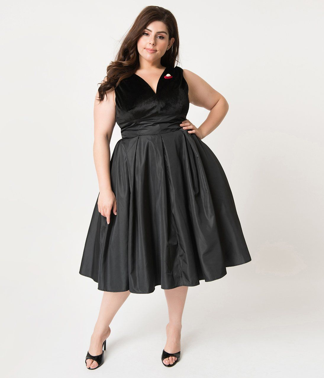 1950s Plus Size Fashion And Clothing History Cocktail Dress Vintage 1950s Cocktail Dress Vintage Inspired Cocktail Dress [ 1275 x 1095 Pixel ]