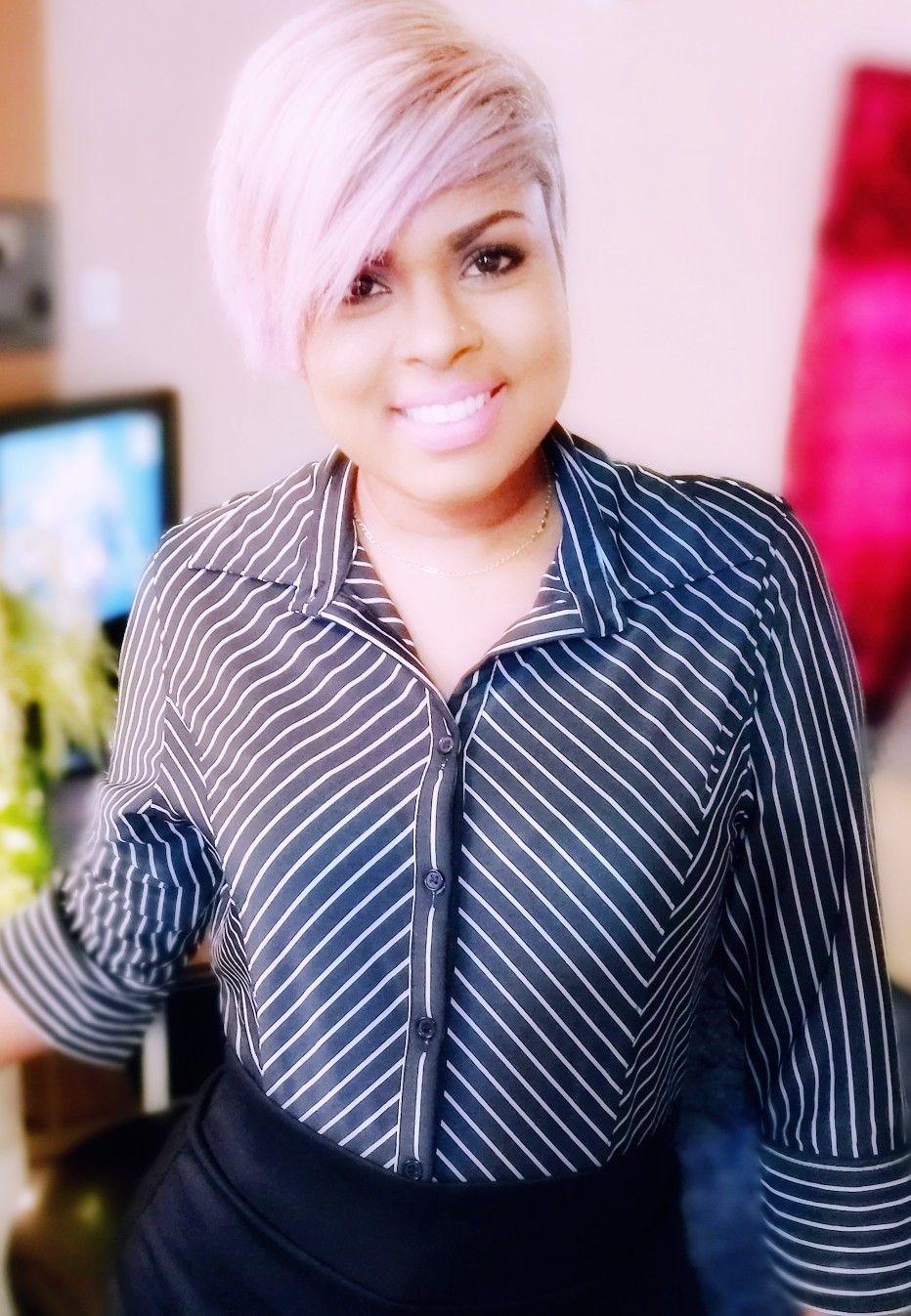 Tobago got swag ash platinum blonde hair with purple hues ra