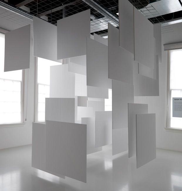 Kunstbewegung Zero Siehst Du Den Wind Ausstellungsdesign Design Set Fotoausstellung