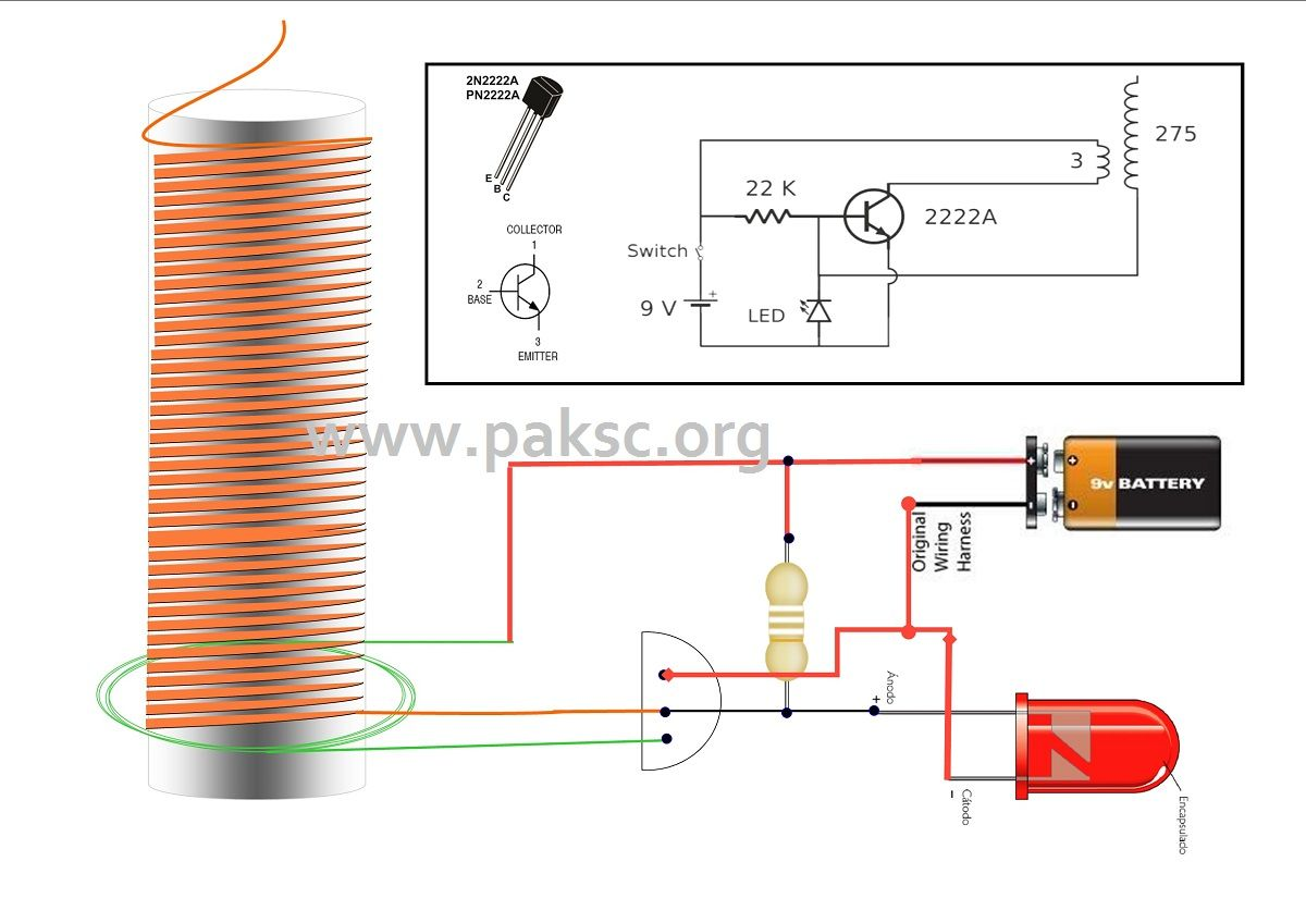 Simple Solid State Tesla Coil Also Called Slayer Exciter Circuit Single Transistor Radio Receiver Electronic Projects Diagram
