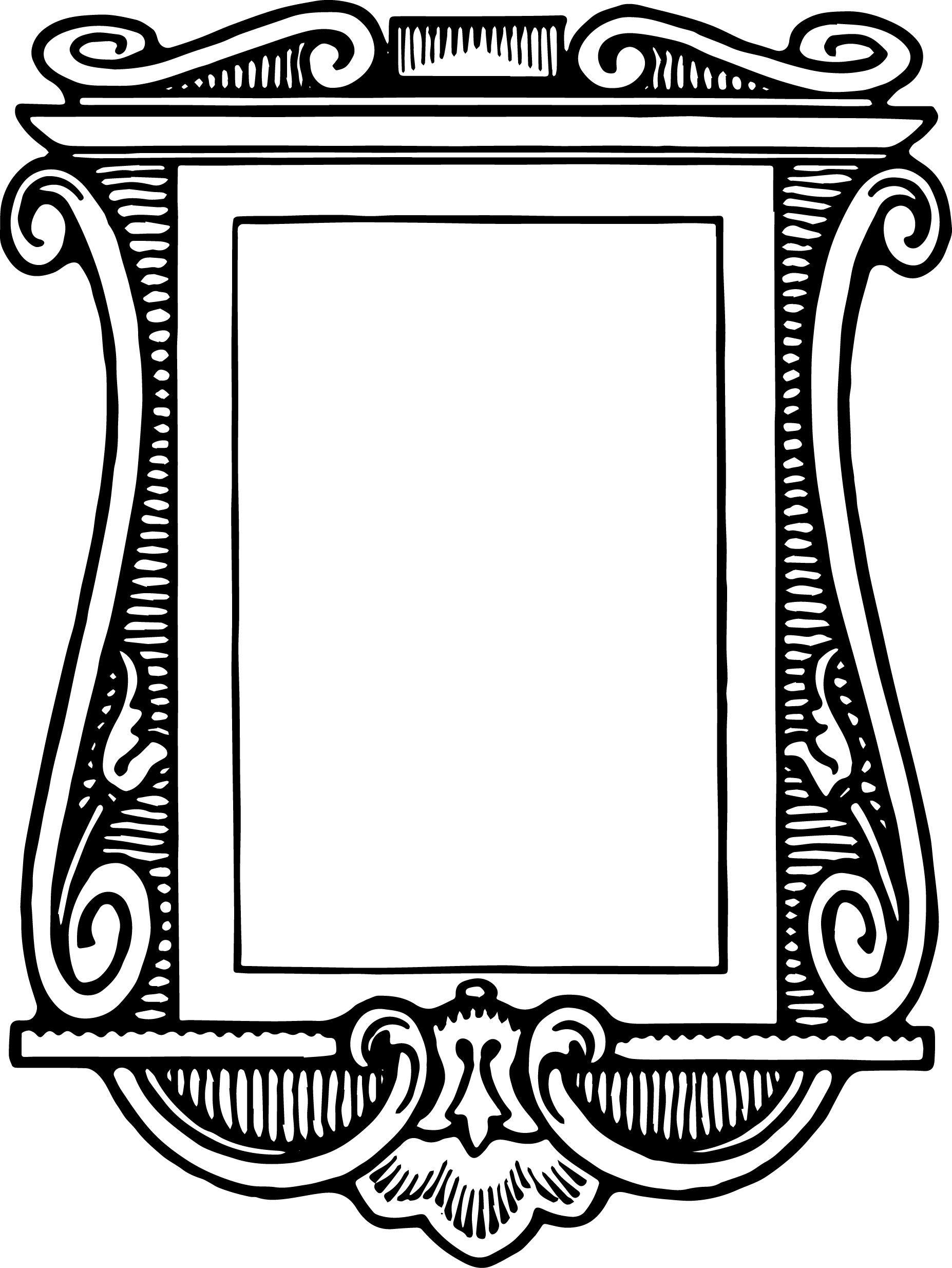 Stock Graphics | Frame clipart, Vintage frames, Clip art