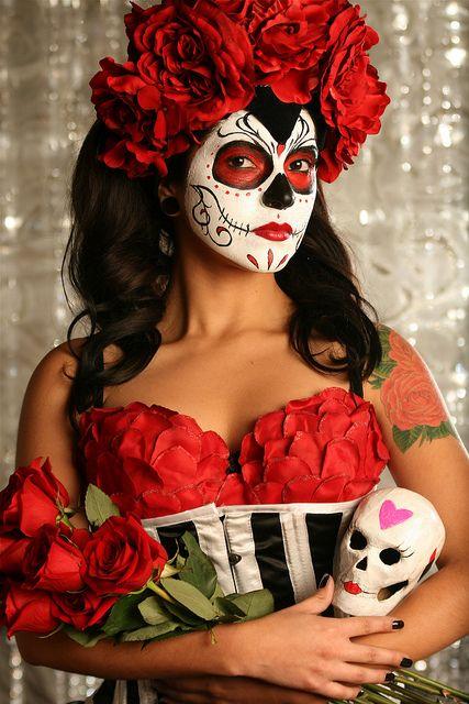 Dia De Los Muertos  by Megan Batson, via Flickr