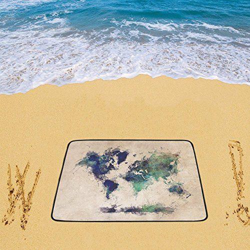 Waterproof sandless beach mat picnic blanket outdoor camping mat waterproof sandless beach mat picnic blanket outdoor camping mat world map beach blanket 78 x 60 gumiabroncs Images