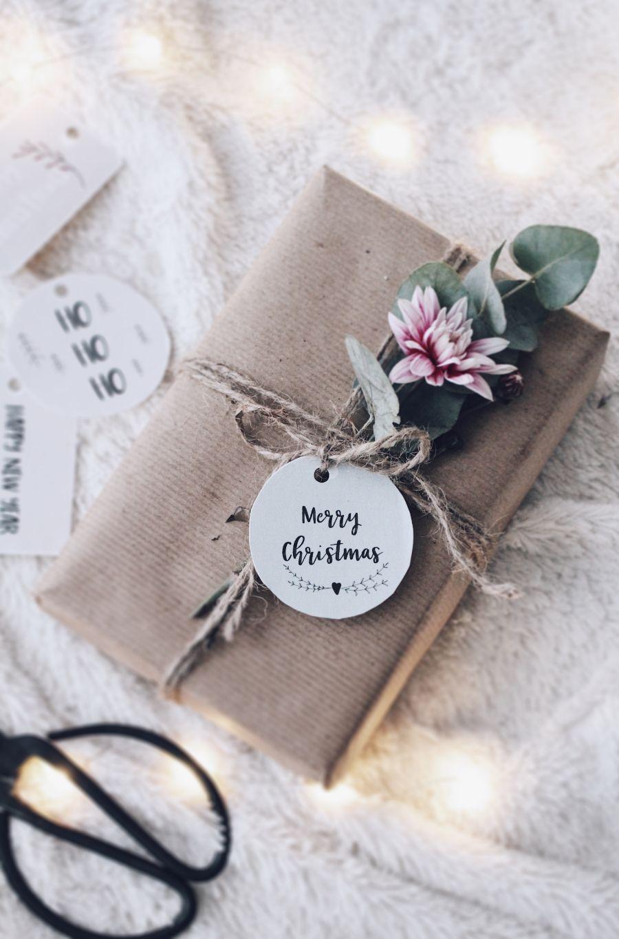 DIY Geschenke verpacken - Freebies 11 tolle Geschenke Anhänger